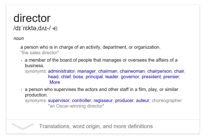 Director – OnBeat Productions™